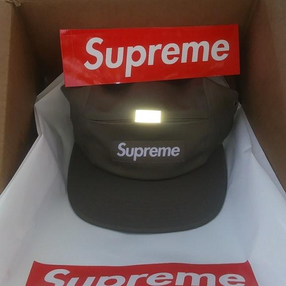 Supreme 3M reflective cap 202af54c4ded